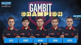 恭喜Gambit获得冠军!